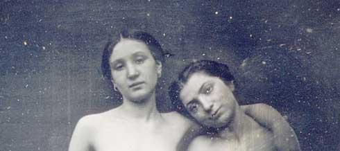 Primera foto de desnudo de la historia