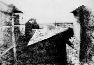 Punto de vista desde la ventana de Grass. 1826.