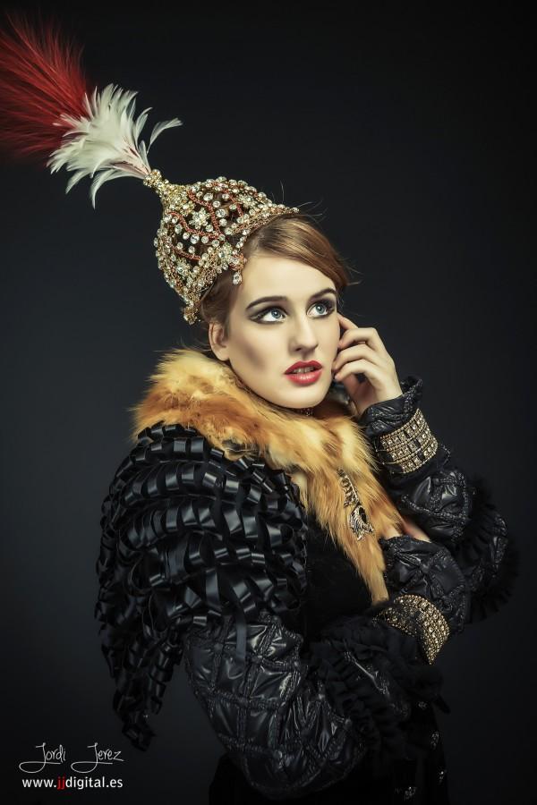 Beauty - Jordi Jerez -Sesión Beauty a modelos Carol March