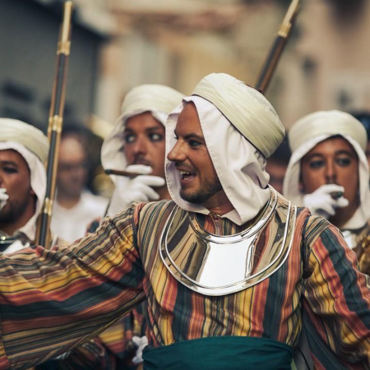 Fiestas Moros y Cristianos Ibi (2013)