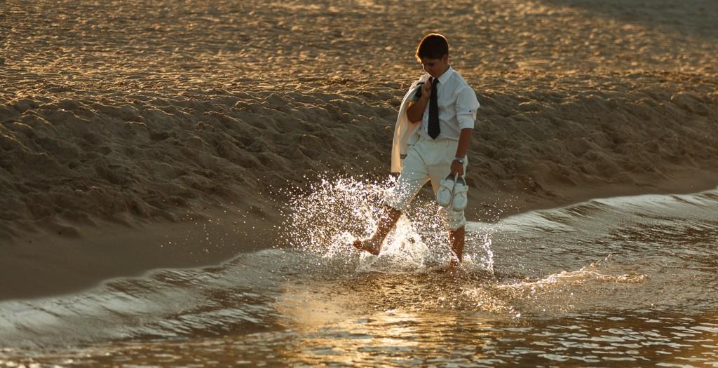 Comunión Manu en la Playa