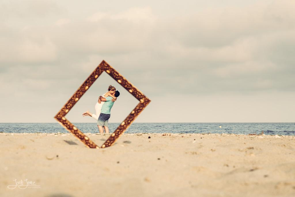 Fotografo de Bodas - Preboda en Playa Campello Alicante