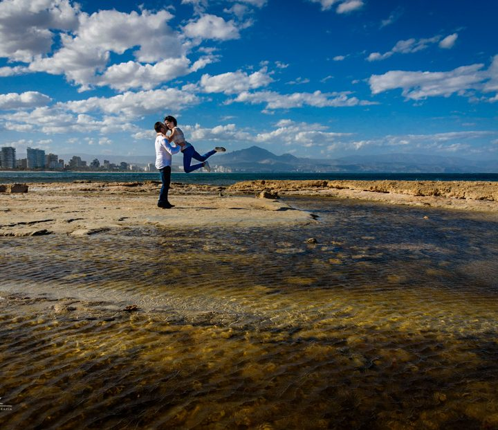 Preboda en las playas de Alicante - Alba y Emilio (Castalla)