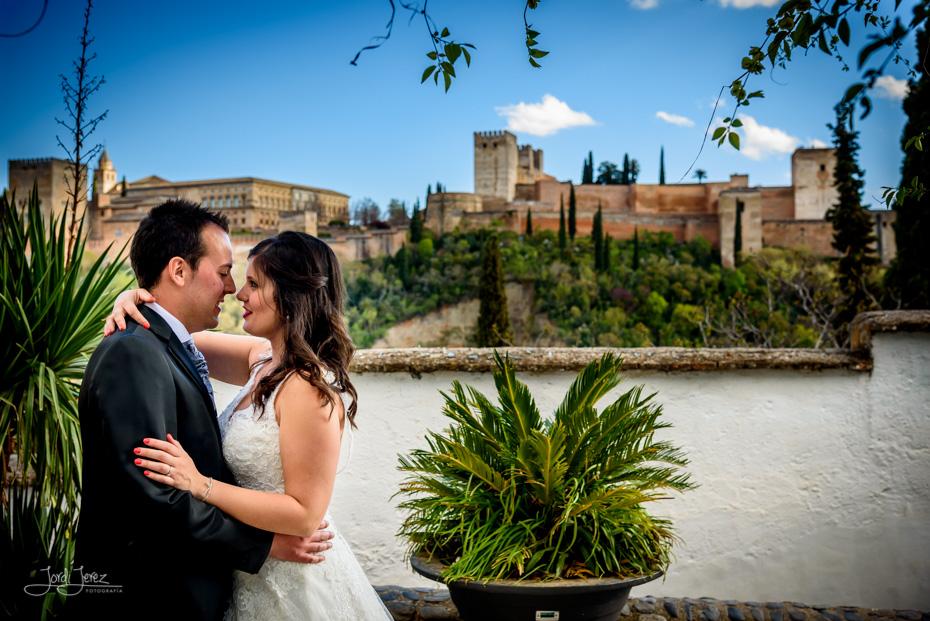 Postboda Alhambra Granada Maite y Jose
